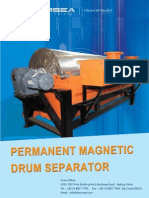 Permanent Magnetic Drum Separator