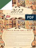 Livro Receitas de Chocolate 2012