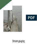 7. Stream Gauging