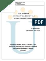 2013Guia Trabajo Colaborativo No 2- 211614 - PROCESOS CARNICOS