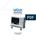 LeCroy WaveSurfer Xs Series Oscilloscope