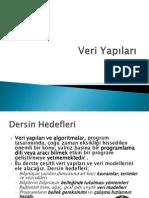 Veri Yapıları -1 - giriş
