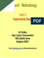 4 Experimental Design