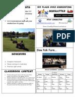 Newsletter Week 8