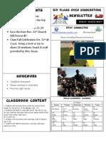 Newsletter Week 9