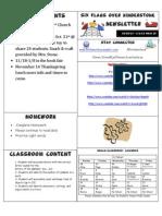 Newsletter Week 10