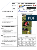 Newsletter Week 12