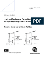 Manual de Diseño de cimentaciones de puentes