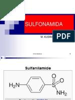 Kimia Medisinal - SULFONAMIDA