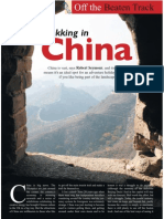 The Travel & Leisure Magazine Trekking in China Feature