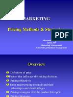 ABM 507 Pricing Methods & Strategies