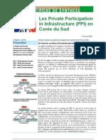 Partenariats public-privé en Corée du Sud 2006
