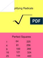 simplifyingradicals