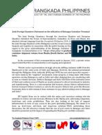 Batangas Container- JFC Statement - Dec 2013