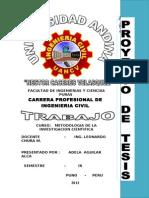 Caratula Investigacion