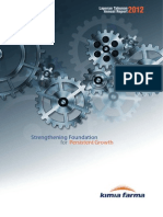 Kimia Farma Annual Report 2012