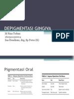 Depigmentasi Gingiva