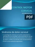 Control Motor Cervical