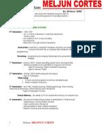MELJUN CORTES Operating System Lesson2
