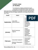 grade 4 revised ss curriculum map
