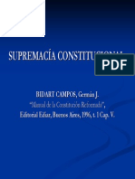 Supremacía constitucional