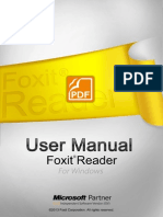 FoxitReader61 Manual