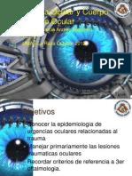 Trauma Ocular y Cuerpo Extraño Ocular