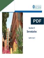 Contabilidad Internacional. Definición. Los inventarios