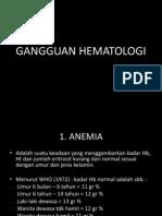 GANGGUAN HEMATOLOGI