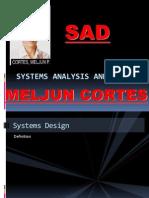 MELJUN CORTS System Analysis Design Lecture
