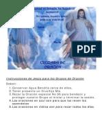 Cruzada de Oracion MDM 101213