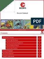 Escorts Group Investors December 13