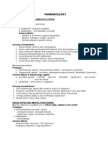 Pharmacology Review for Nurses