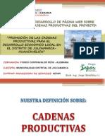 Presentacion Cadenas Productivas