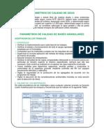 Parametros de Calidad de Agua, Bases y Subbases Eg2013