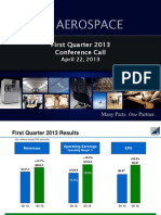 BEAV Q1 2013 Slides