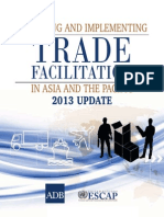 Designing and Implementing Trade Facilitation in Asia and the Pacific 2013 Update