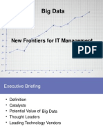 Big Data New Frontiers for IT Management PPT