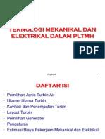 Teknologi Mekanikal Dan Elektrikal Dalam Pltmh c
