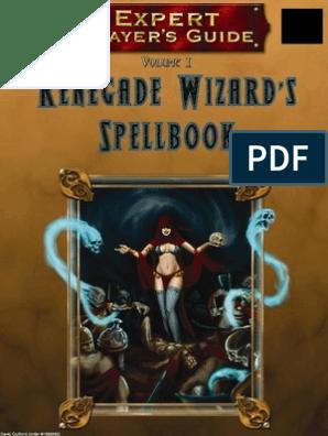 MGP9020 - 3 5E Expert Player's Guide Vol  I - Renegade