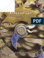 MGP9003 - 3E Ultimate Equipment Guide I, Supplementary Rulebook III