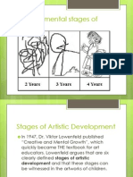 stages of artistic development