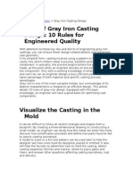 10 Tips Design in Gray Iron