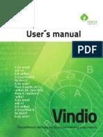 Vindio 1.0 User's Manual