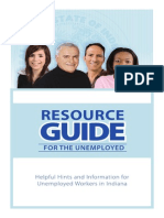 Resource Guide for the Unemployed in Indiana