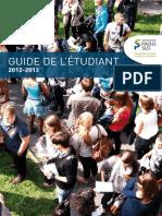 Guide 2012-2013