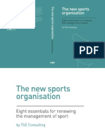 The new sports organisation