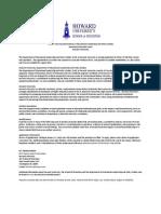 Assistant/Associate Professor, tenure-track position, Department of Educational Leadership and Policy Studies, Howard University