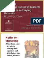 Ch08 - Business Market and Behaviour