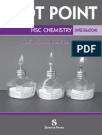 dot point chemistry HSC investigation